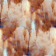 Royalty-Free Stock Photo: Rust paint flowed seamless texture wallpaper iron
