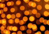 Golden christmas lights abstract homogeneous background — Stock Photo