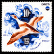 USSR - CIRCA 1975: A Stamp printed by USSR, shows sailor sea duc — Stock Photo