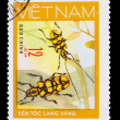 VIETNAM - CIRCA 1981: A stamp printed in VIETNAM, shows animal i — Stock Photo #15879533