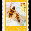 Stock Photo: VIETNAM - CIRCA 1981: A stamp printed in VIETNAM, shows animal i