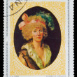 "CUB- CIRC1973: stamp printed by CUBA, FX Fabre ""Elizabetta — Stock Photo #15889403"