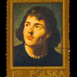 POLAND - CIRCA 1973 : Stamp printed in Poland, showing Nicolaus — Stock Photo