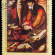 "Stock Photo: USSR - CIRC1974: stamp printed by USSR, Peters Artist ""Fishm"