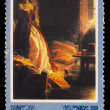 "USSR - CIRCA 1980: A Stamp printed USSR, shows painting ""prince — Foto de Stock"