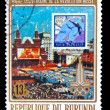 BURUNDI - CIRCA 1960: A stamp printed in BURUNDI , 60 years of r — Stock Photo