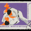 MONGOLIA - CIRCA 1980: A stamp printed in MONGOLIA, Olympic game — Stock Photo #15930487
