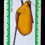 Постер, плакат: BULGARIA CIRCA 1982: A stamp printed in BULGARIA Bulgarian f