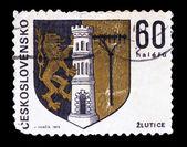 CZECHOSLOVAKIA - CIRCA 1973: A Stamp printed in CZECHOSLOVAKIA, — Stock Photo