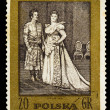 POLAND - CIRCA 1972: A stamp printed in POLAND, shows S. Moniusz — Stock Photo