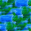 ストック写真: Seamless watercolor blot background green blue raster illustrati
