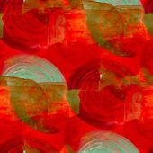 Tone red brown seamless watercolor wallpaper brush strokes — Stock Photo
