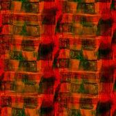 トーン オレンジ シームレスな水彩画赤壁ブラシ ストローク — ストック写真