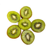 Kiwi in the context of isolated — Stock Photo