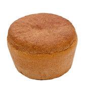 Russo pane nero rotondo isolato — Foto Stock