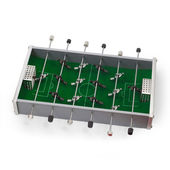 Table football game isolated — Stock Photo