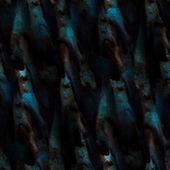 背景蓝黑色无缝水抽象水彩设计 — 图库照片