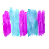 Watercolor hand isolated stain raster illustration — Stock Photo