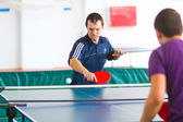 URYUPINSK- RUSSIA - MARCH 17: athlete table tennis, ping-pong, R — Stock Photo