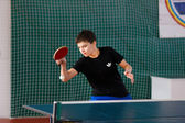 URYUPINSK- RUSSIA - MARCH 17: athlete table tennis, ping-pong, Y — Stock Photo
