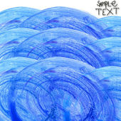 Background hand watercolour blue brush texture wallpaper — Stock Photo