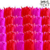 Background hand watercolour red purple square brush texture wall — Stok fotoğraf