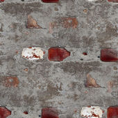 Seamless old gray texture stone wall with crack background wallp — Стоковое фото