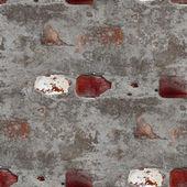бесшовные старые серой текстуры каменной стеной с трещины фон wallp — Стоковое фото