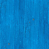 Seamless texture wooden fence old blue wallpaper — Stock Photo