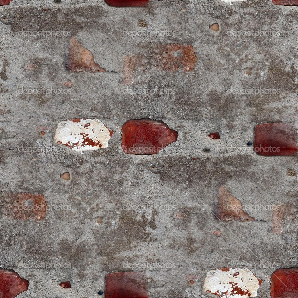 Senza soluzione di continuità muro pietra vecchia trama grigia con ...