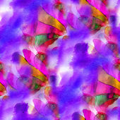 Kunst hintergrund nahtlose handgefertigte lila rot hell aquarell — Stockfoto