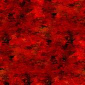 明亮的红色背景无缝手工水彩 — 图库照片