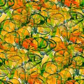 Grunge texture. watercolor seamless background. art yellow green — Stock Photo