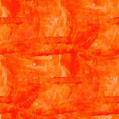 Seamless orange cubism art texture watercolor background — Stock Photo