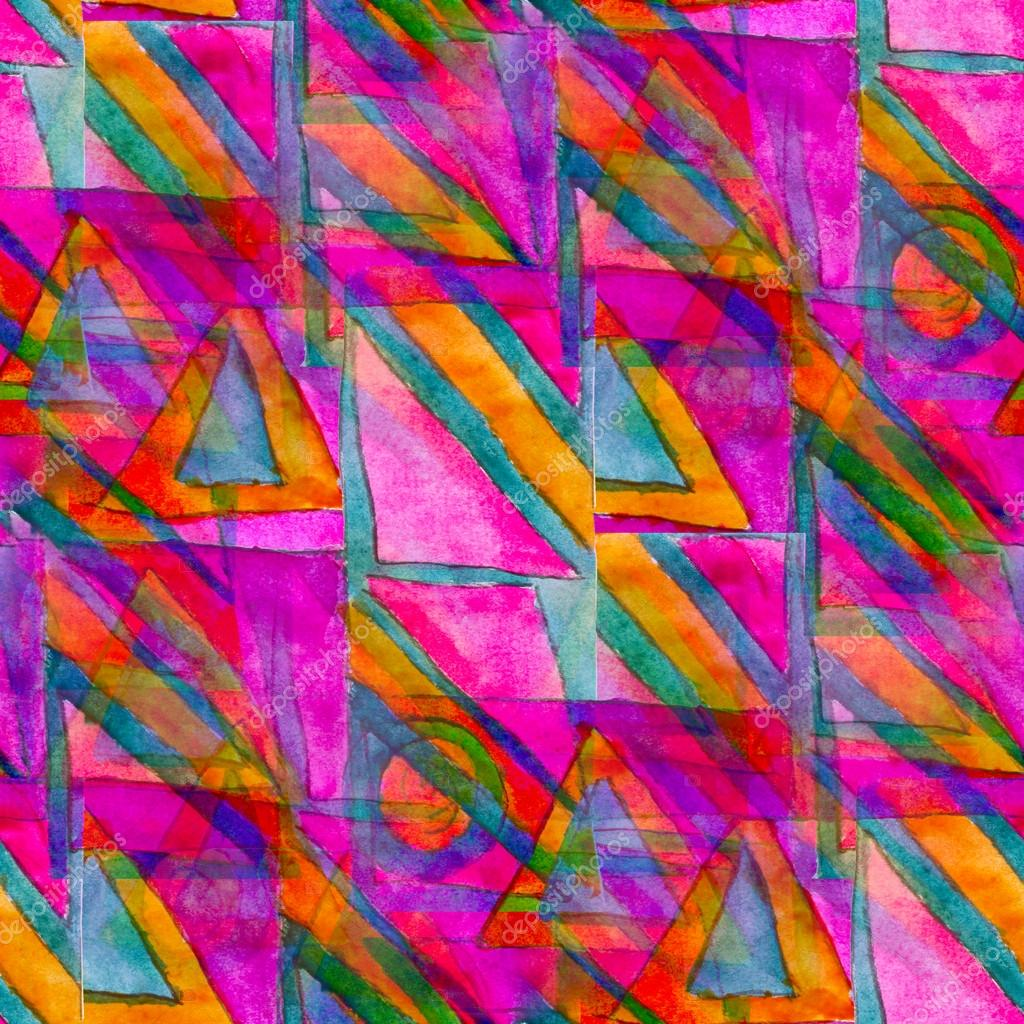 lila nahtlose kubismus abstrakte kunst picasso textur aquarell w stockfoto 18238963. Black Bedroom Furniture Sets. Home Design Ideas