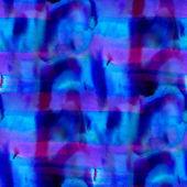 Blue purple watercolor background, art seamless paint background — Stock Photo