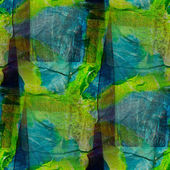 Background blue green watercolor art seamless texture abstract b — Stock Photo