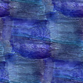 Background blue watercolor art seamless texture abstract brush — Stock Photo