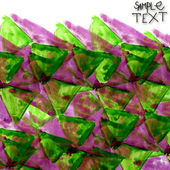 Watercolor purple green background abstract paper art texture — Stock Photo