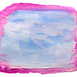 Art blue, pink watercolor isolated for your design — Stock Photo
