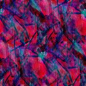 Arte seamless texture sfondo rosso blu acquerello bru astratta — Foto Stock