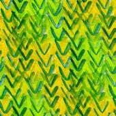 Texture grunge, backgroun aquarelle bande vert, jaune transparent — Photo
