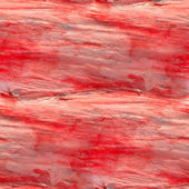 Abstract red seamless painted watercolor background on paper tex — Stock Photo