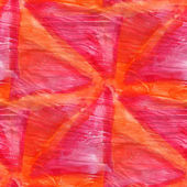 Abstract red, orange seamless painted watercolor background on p — ストック写真
