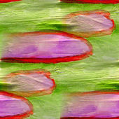 Résumé sans couture peintes aquarelle fond vert et violet sur — Photo