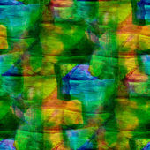 Zespół grunge tekstur zielony, żółty, niebieski, akwarela bezszwowe, ba — Zdjęcie stockowe