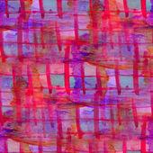 Zespół grunge tekstur różowy, niebieski, siatki akwarela bezszwowe, zespół b — Zdjęcie stockowe