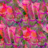 гранж розовый, зеленая полоса текстуры, акварель бесшовные, группа backg — Стоковое фото