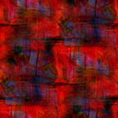 Grunge band texture, watercolor red seamless, band background dr — Stock Photo