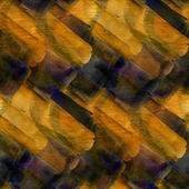 Background yellow blue ornament watercolor art seamless texture — Stok fotoğraf